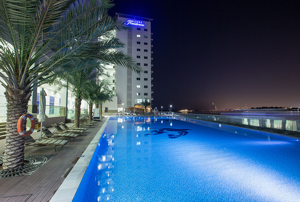 azure residences pool