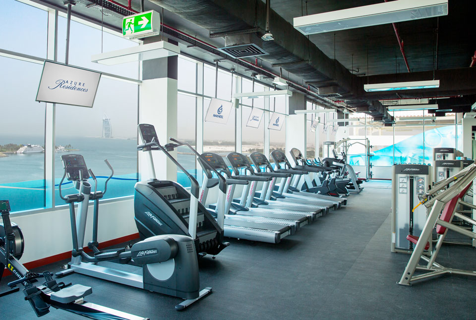 Azure residences gym