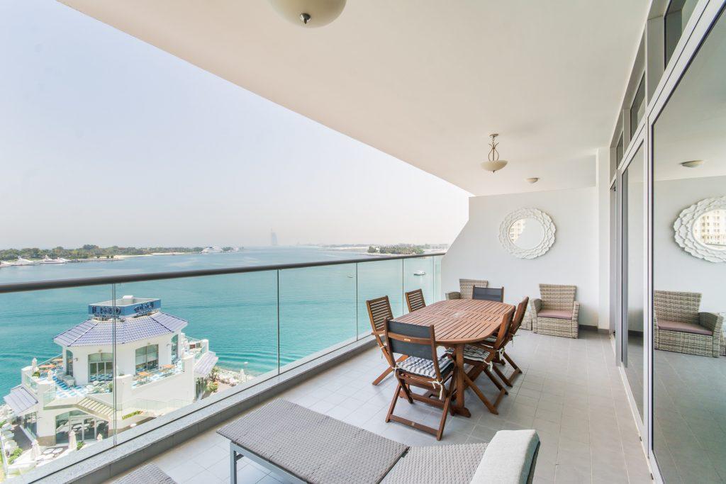 Azure residences balcony