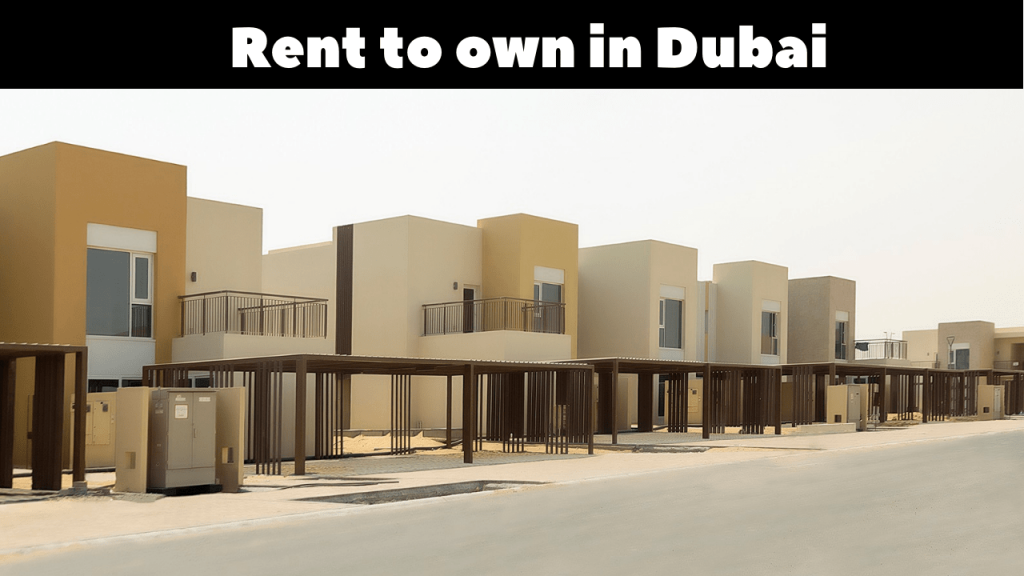 Rent to own in Dubai! Pay 10% and move in!