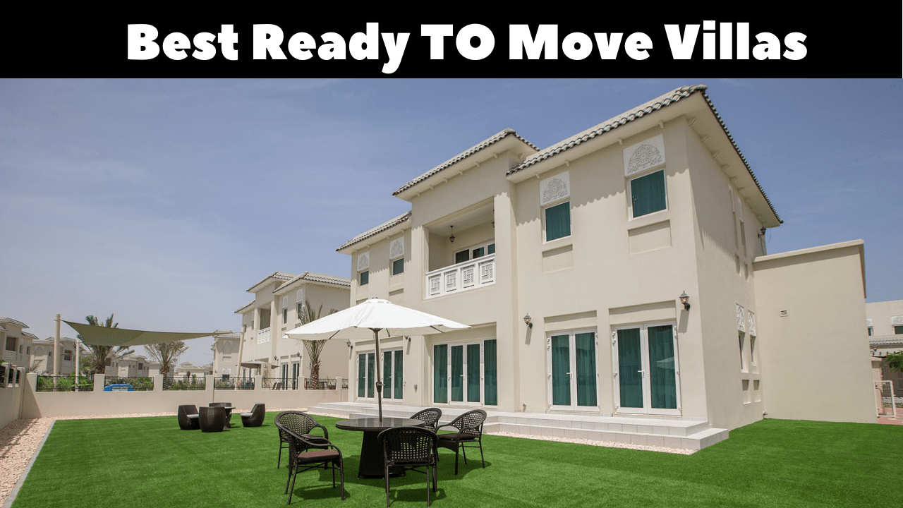 Ready Villas In Dubai With A Payment Plan